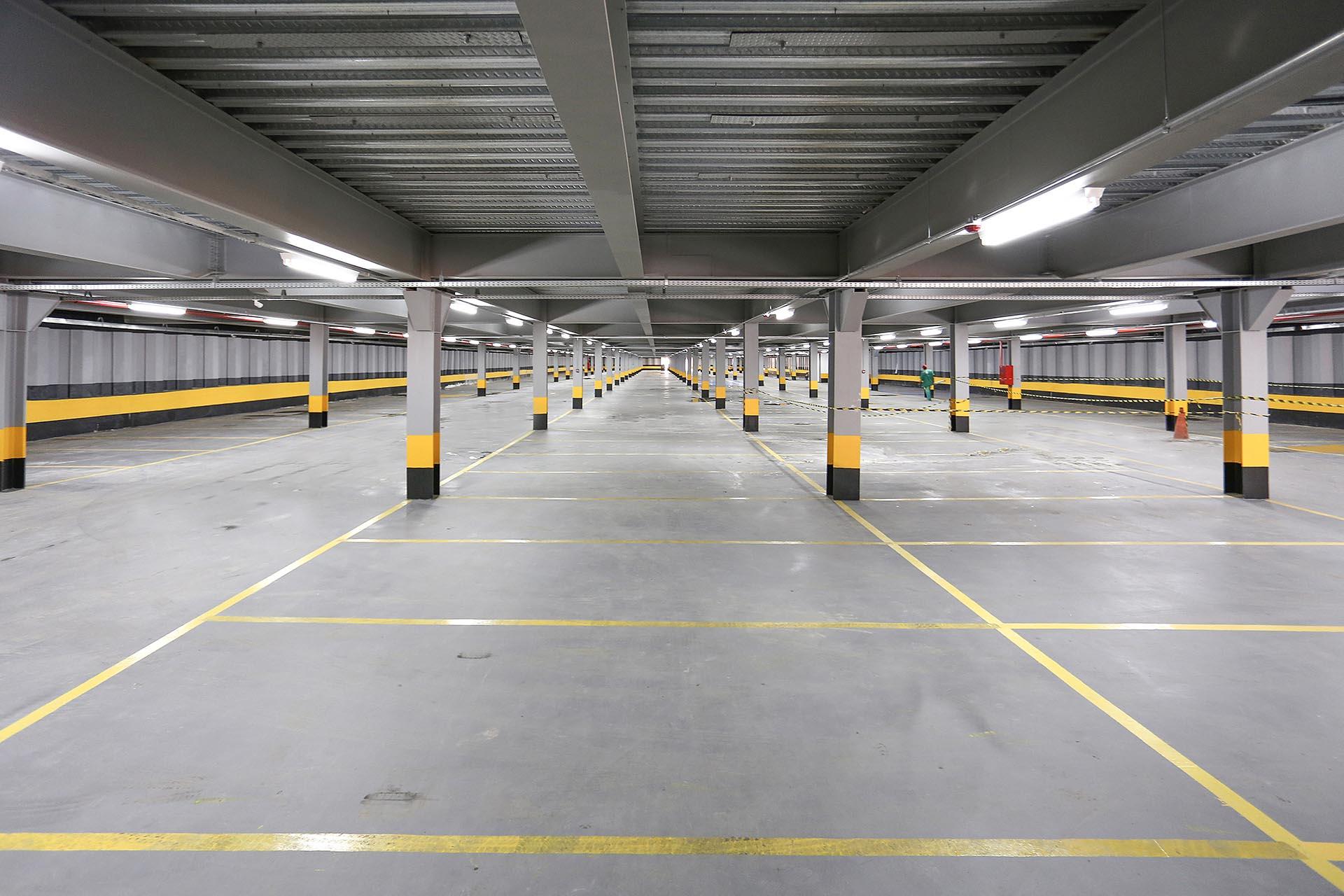 Garagem Subterrânea Charitas